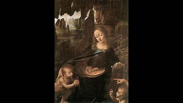 A Virgem dos Rochedos, de Leonardo Da Vinci